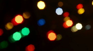 Stock Video Footage of Christmas decoration defocused background