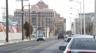 Downtown Albuquerque 0818 Stock Footage