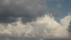 clouds nice - stock footage