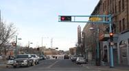 Downtown Albuquerque 0830 Stock Footage