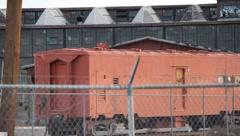 Old Industrial Buildings - stock footage