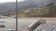 Landing Aeroplane 4934 Stock Footage