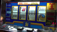 Slot Machine 4 Stock Footage