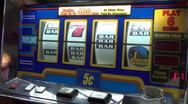 Stock Video Footage of Slot Machine 4