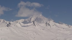 Mont Blanc Timelapse Stock Footage