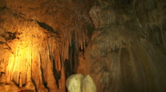 Great ancient caves Stock Footage