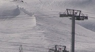 Stock Video Footage of Ski lift Cablecar