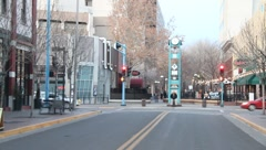 Downtown Albuquerque 0872 Stock Footage