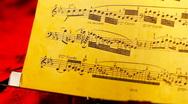 Musical Sheet 21 slide Stock Footage