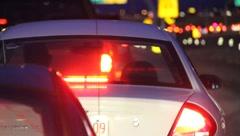 Highway Traffic Jam 0885 - stock footage