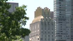 View from Central Park, Manhattan, New York City (1) Stock Footage