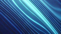Distorted Lines Blue Stock Footage