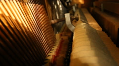 Piano Roll - Interior Perspective of Strings Arkistovideo