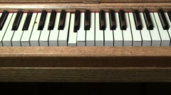 Player Piano Stock Footage