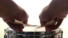 Snare Drum Roll Stock Footage