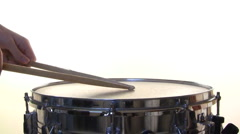 Various snare drum patterns Stock Footage