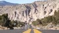 Desert Highway Perpective 1111 HD Footage