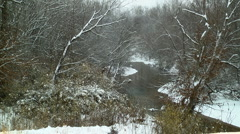 Snowy river Stock Footage