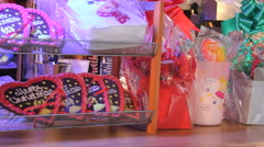 Gingerbread hearts HD Stock Footage