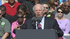 Senator Ben Cardin: Sound-bite B - stock footage