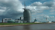 Stock Video Footage of Bremerhaven, Germany (Time laps)