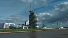 Bremerhaven, Germany Stock Footage