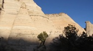 Stock Video Footage of Tent Rock 1321