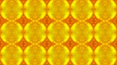 Luxury classical flower pattern,golden fancy ceramic tile,glazed tile,Fractal, Stock Footage