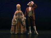 Dance Through Time4-Allemande Stock Footage