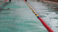 Young Swimmer Stock Footage