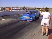 Motorsports, drag racing, mid 80s chev burnout, loud and fast! Stock Footage