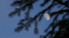 Mysterious moon Stock Footage