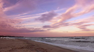 Stock Video Footage of Evening seascape time lapse