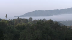Time lapse of clouds at sunrise in Casitas Springs, California. Stock Footage