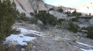 Stock Video Footage of Tent Rock 1244