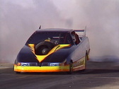 Motorsports, drag racing, Jet car smoke and flame show, loud and fast! Stock Footage