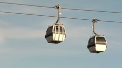 Aerial Tramway HD Stock Footage