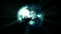 Mirror Ball FULL HD Stock Footage