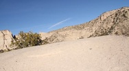 Stock Video Footage of Tent Rock 1218