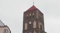 Nicolai Church, Wismar, Germany Stock Footage