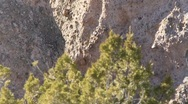 Stock Video Footage of Tent Rock  1200