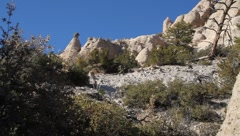 Tent Rock 1192 Stock Footage