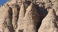 Stock Video Footage of Tent Rock 1167