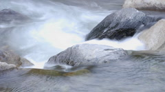 Close up time lapse of Roaring River Falls in Kings Canyon National Park, Stock Footage
