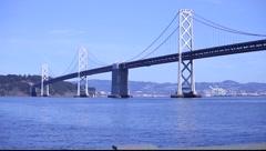 SF Bay Bridge Stock Footage