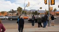 Congresswoman Gabrielle Giffords Tucson office - Peace Walk ending - 12 Stock Footage