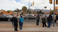 Congresswoman Gabrielle Giffords Tucson office - Peace Walk ending - 20 Footage