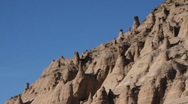 Stock Video Footage of Tent Rock 1152