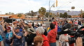 Congresswoman Gabrielle Giffords Tucson office - Peace Walk ending - 10 HD Footage