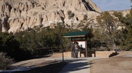 Stock Video Footage of Tent Rock 1148